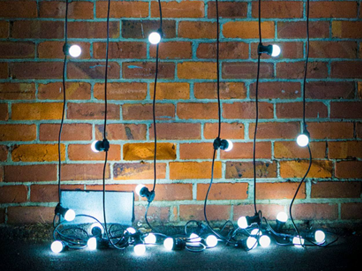 FESTOON party lights - cool white LED