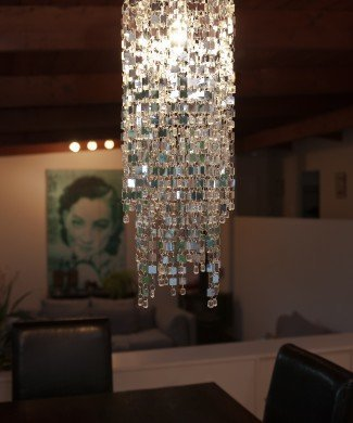 MIRROR TILE lamp shade