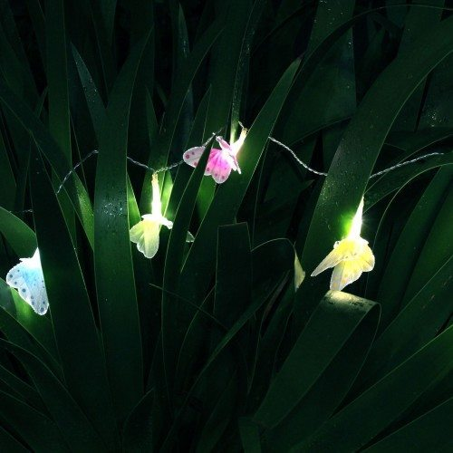 SOLAR Fairy Light Butterflies