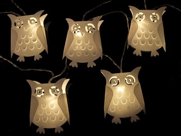 OWL battery fairy lights