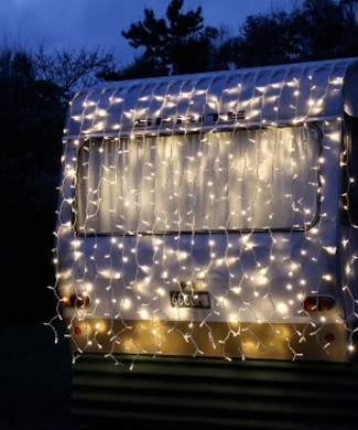 led curtain fairy lights - Waterfall Christmas Lights