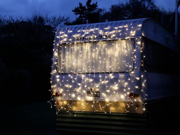 LED Curtain Fairy Lights