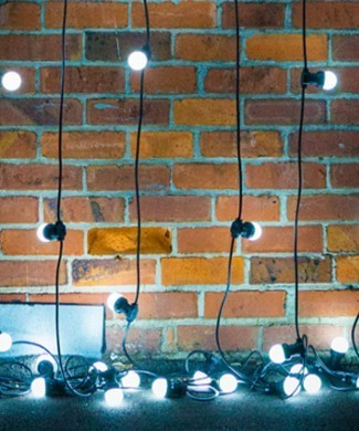 FESTOON party lights 10m - cool white LED