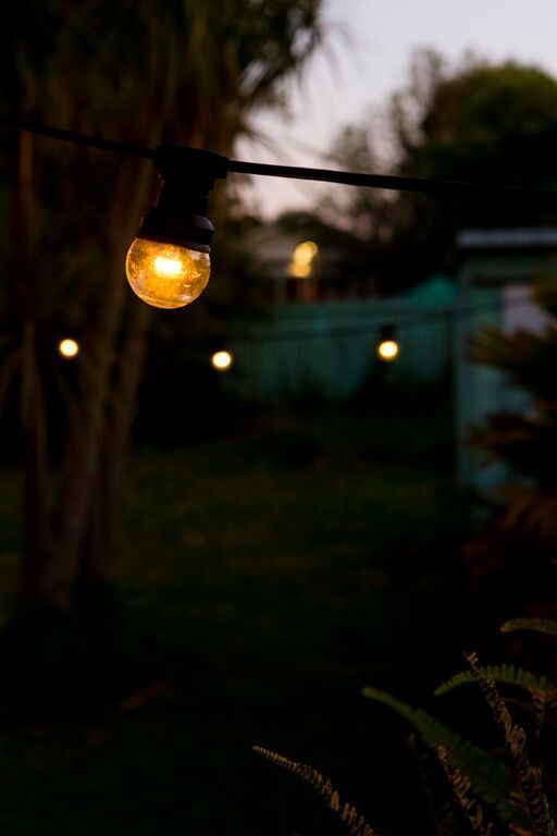 Festoon Party Lights Clear Led