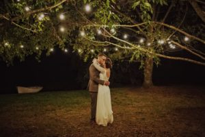 Festoon wedding lights