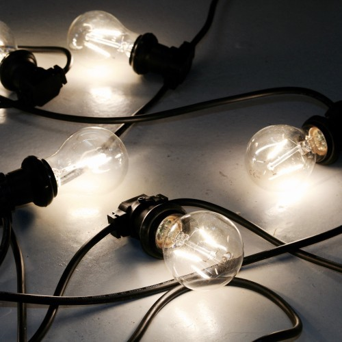 Filament festoon lights